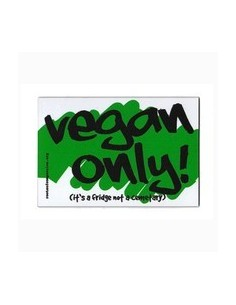 Aimant Vegan only