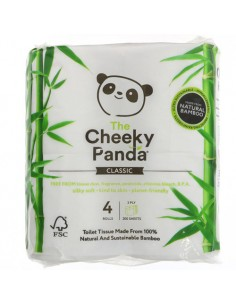 Cheeky Panda toilet tissue...