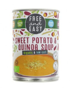 Sweet potato & quinoa soup...