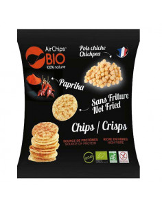 Airchips pois chiche & paprika - biologique