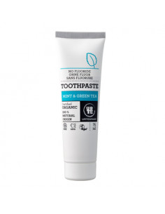 Mint & Green Tea toothpaste...
