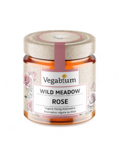 Vegan rose honey