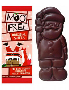 Organic Mini Chocolate Santas