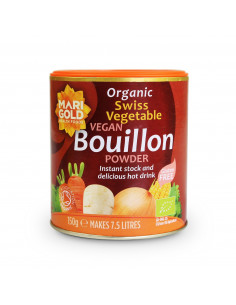 Swiss vegetable vegan bouillon - organic