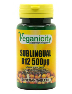 Sublingual B12 tablets (500...
