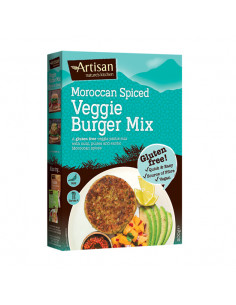 Moroccan spiced burger mix