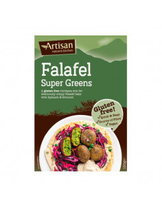 Falafel mix with spinach &...